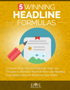 5 Winning Headline Formulas